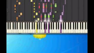Bumble bees   Aqua [Piano tutorial by Synthesia]