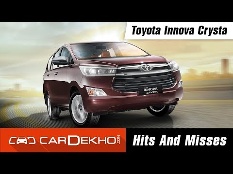 Toyota Innova Crysta Hits & Misses