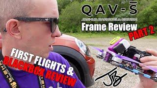 Lumenier QAV-S Joshua Bardwell Edition - Part 2 - A Frame Review From a Frame Designer