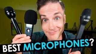 Best Microphone for Interviews —  3 Best Handheld Microphones