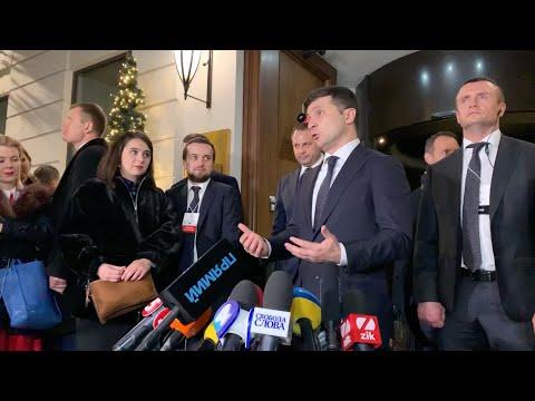 Зеленский Гордону в Париже о Путине и стене на Донбассе
