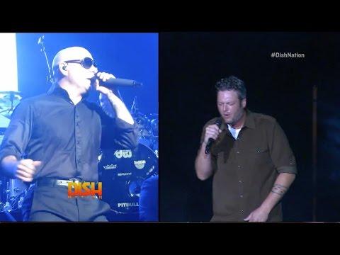 Is A Blake Shelton/Pitbull Duet On The Way?