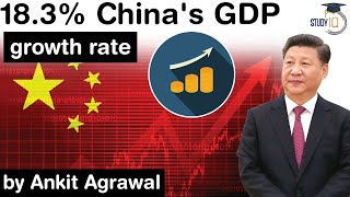 China's Economy Grows 18.3% in the first quarter of 2021 - Has China bounced back from the pandemic?
