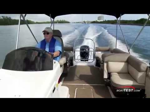 Bayliner's 24′ Element XR7 Deck Boat Review