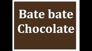 I'm Bilingual! Spanish Rhyme for Kids - Bate Bate Chocolate