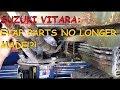 Suzuki Vitara: EVAP Problem & Discontinued Parts!?