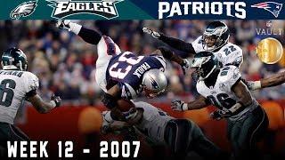 The Sunday Night Scare! (Eagles vs. Patriots, 2007) | NFL Vault Highlights
