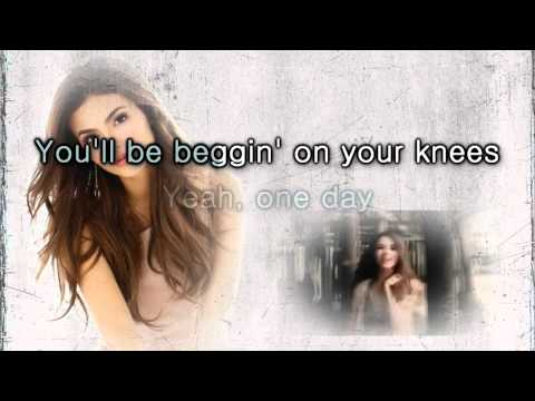 Victoria Justice - Beggin' On Your Knees [Karaoke Instrumental  Lyrics].mp4