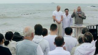 """Крещение Церкви """"Слово Божие"""" в Одессе. 2015"""