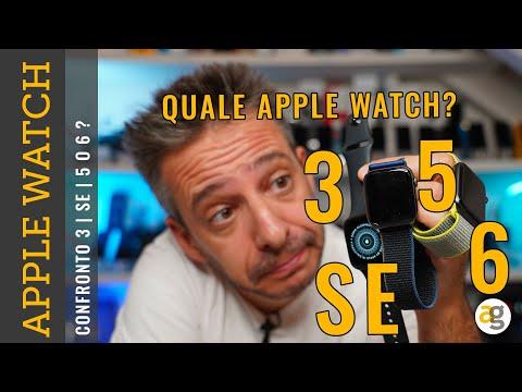 Confronto APPLE WATCH 6 SE 5 o 3. Quale comprare?