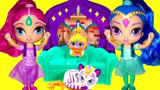 Shimmer and Shine Float and Sing Palace Friends Playset