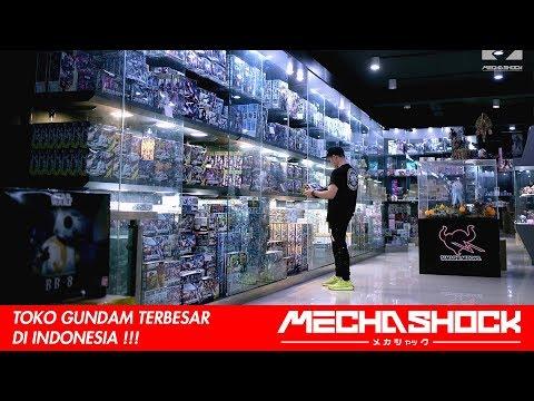 Toko Gundam Terbesar di INDONESIA !!! jangan lupa datang GUYS!!