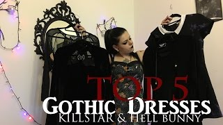 TOP 5 Gothic Dresses | @AncaAddams