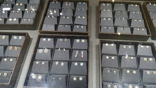 Tanishq Latest Diamond Earrings Collection