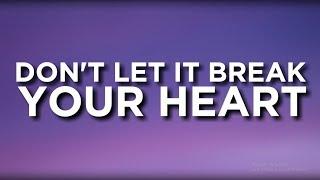 Louis Tomlinson - Don't Let It Break Your Heart (Lyrics)