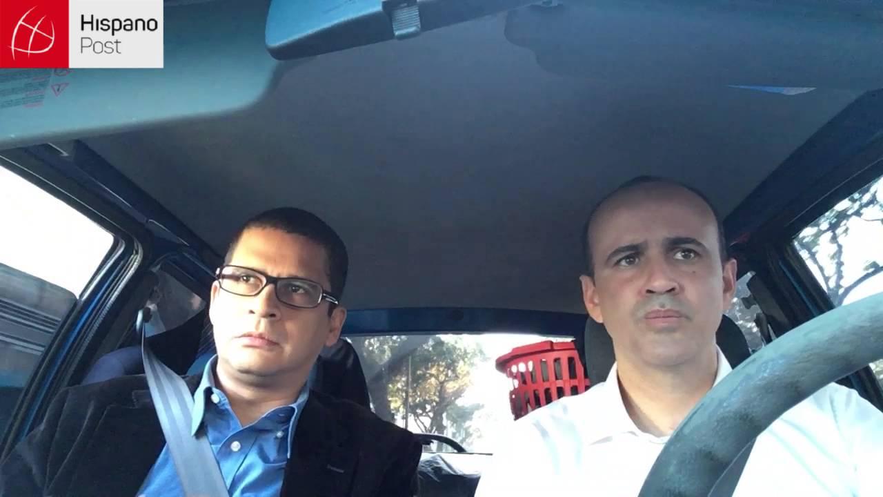 Al volante con Nicmer Evans en HispanoPost