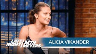 Alicia Vikander Talks Starring in Jason Bourne
