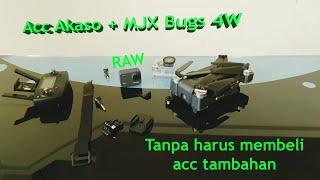 MJX BUGS 4W + Action Camera Akaso