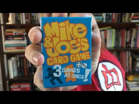 Mike & Joe's Card Game - Play 3 Games at Once