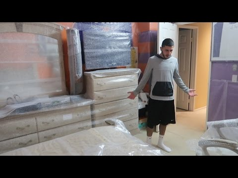WRAPPING MY BROTHERS ENTIRE ROOM WITH BUBBLE WRAP!! | FaZe Rug