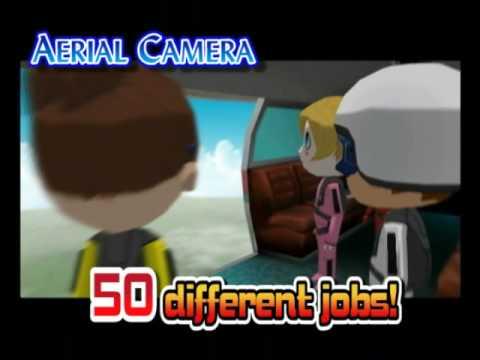 Видео № 0 из игры Job Island Hard Working People (Б/У) [Wii]