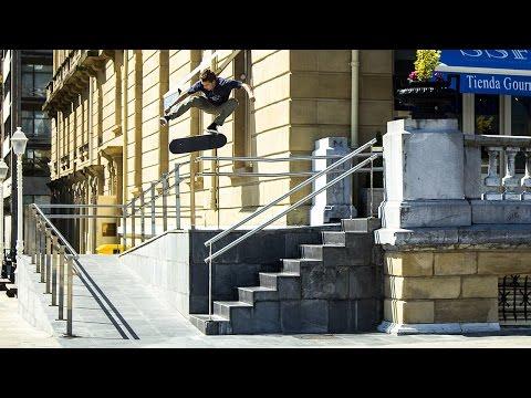 RVCA's Smash Through the Basque Video