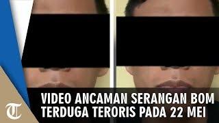 Beredar Video Terduga Teroris Ancam Lakukan Serangan Bom 22 Mei, Langsung Ditangkap Densus 88