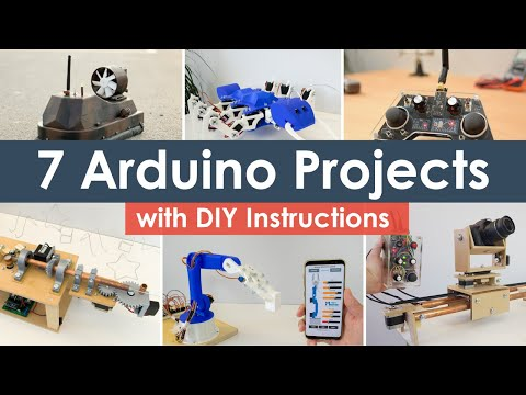 Cool Arduino Projects Compilation 2