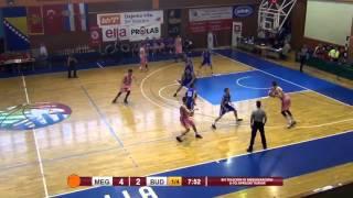 "#33 Uros Plavsic(born december 1998, 211cm) Highlights ""6th April"" U - 18 Tournament 2016"
