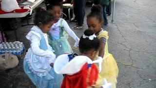Ring Around the Rosie with Disney Princesses