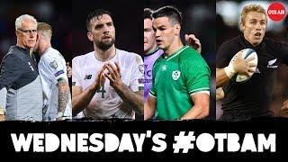 LIVE: OTB AM | Ireland exposed by Swiss, Damien Delaney, All Blacks' Justin Marshall, RWC 2019 |