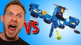 Paw Patrol Flip & Fly Chase 2-in-1 Transforming Vehicle Unboxing