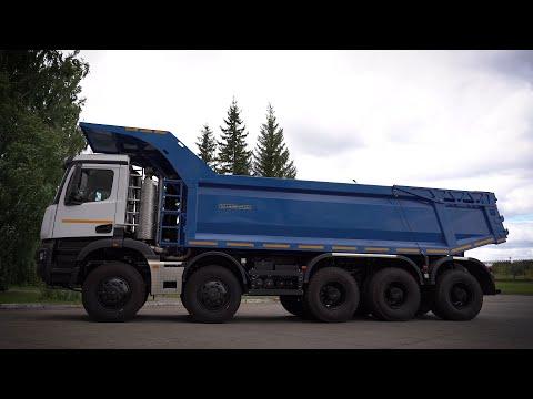 Карьерный самосвал КАМАЗ-65805 «Атлант». Огромный, но одновременно самый маленький из будущего семейства карьерных грузовиков