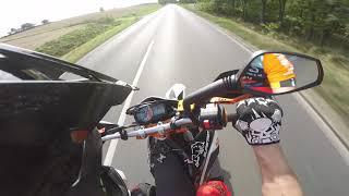 KTM Smc 690r  Wheelies & Sumoride!!!