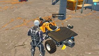 ON TEST LE NOUVEAU VEHICULE QUAD A REACTION sur FORTNITE BATTLE ROYALE !