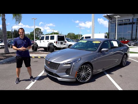 External Review Video XxpeSeBIMeM for Cadillac CT6 Sedan