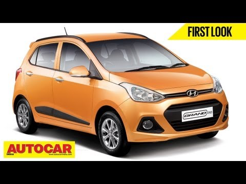 All New Hyundai Grand i10 & 1.1lt Diesel Engine | First Look Video | Autocar India