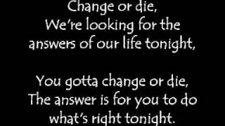 Papa Roach - Days of War and Change or Die (Uncensored and Lyrics)