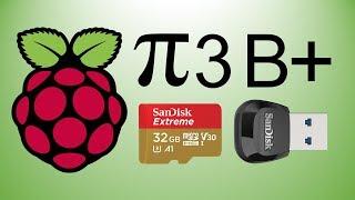 Raspberry Pi 3 Model B+   Top 3 Methods   How To Write A Raspbian Image Onto An SD Card   2019
