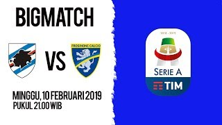 Live Streaming Sampdoria Vs Frosinone di HP via MAXStream beIN Sports, Minggu Pukul 21.00 WIB