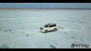 toyota land cruiser 200 Покатушки на озере . г.Семей 2018