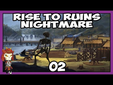 RISE TO RUINS Nightmare 02   The Apocalypse Happened   Let's Play Rise to Ruins