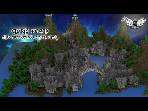 Elaris Town the abandoned elven city [Cinematic / Download] Minecraft Map