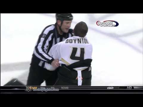 Brad Staubitz vs. Nick Boynton