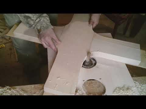 Не заменимый способ для столяра.  Как сделать много одинаковых деталей на фрезерном.