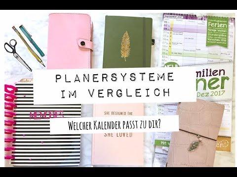 Planersysteme im Vergleich   TAG   Welcher Kalender passt zu Dir   deutsch   planenaufpapier