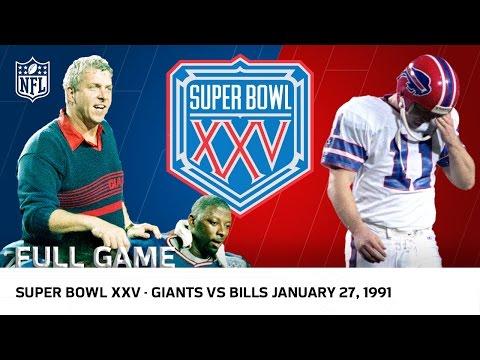 Super Bowl XXV   Bills vs. Giants