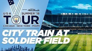 Guardiola & Keepers take penalties! | Man City Training in Chicago | US TOUR 2018