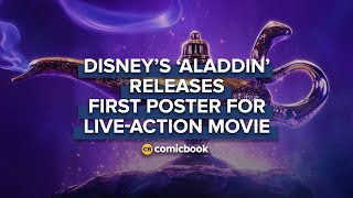 BREAKING: FIRST Poster for Live-Action 'Aladdin' Released