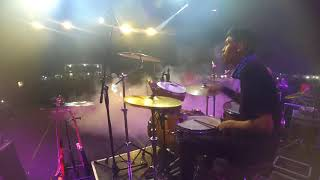 Nicky Astria - Jarum Neraka Cover (Drum Cam) By Jaya Jr | Festival Jiran Nusantara 2017